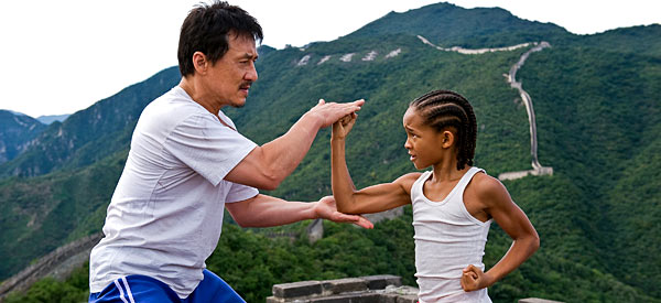 Jackie Chan and Jaden Smith star in 'The Karate Kid.'